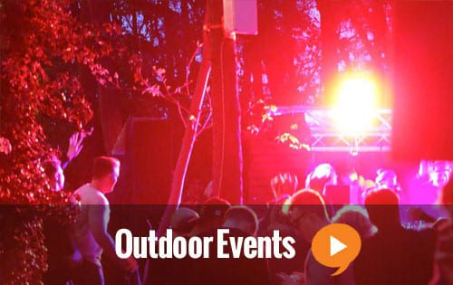 Outdoor Events music festival