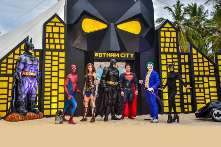 1 superhero themed event
