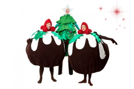 Christmas Tree Puddings Area 51