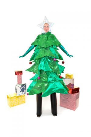 Christmas Tree Character