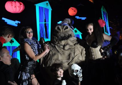 Oogie Boogie Man At Poarty