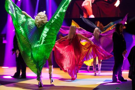 South american styled dancers