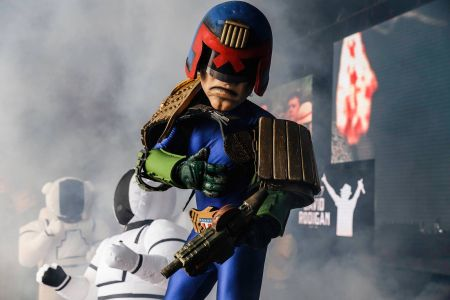 Area 51 Judge Dredd