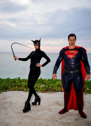 catwoman and superman