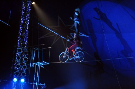 Circus Beserk Tightrope Cycle