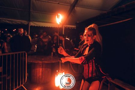 cirque du soul fire performer