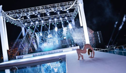 contortion show luxury