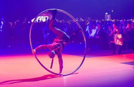 cyr wheel act