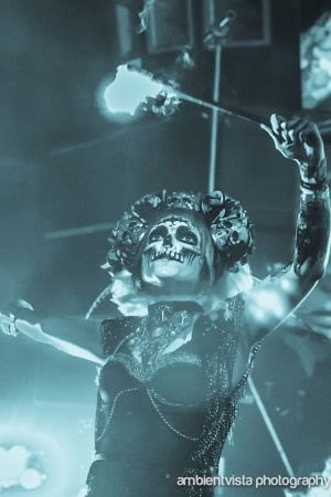 Day Of The Dead Dancer Bestival