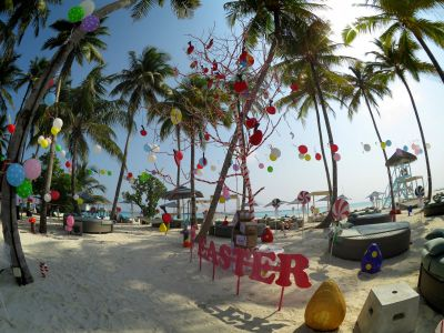 Easter In The Maldives
