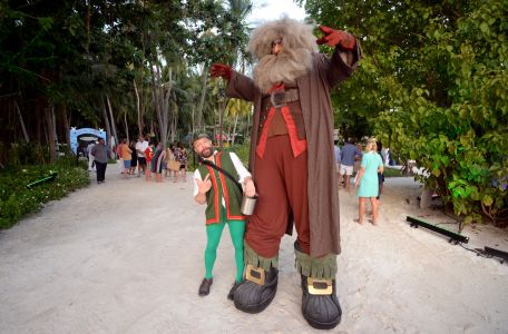 Fairy Tale Stiltwalker Maldives