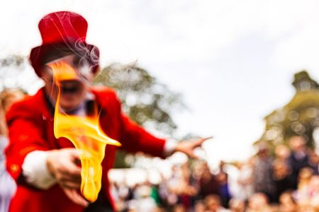 fire circus entertainer