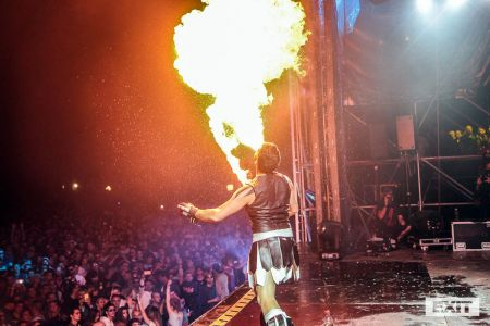 Fire Breather Exit Festival