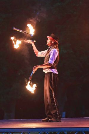 fire juggler matt lemon