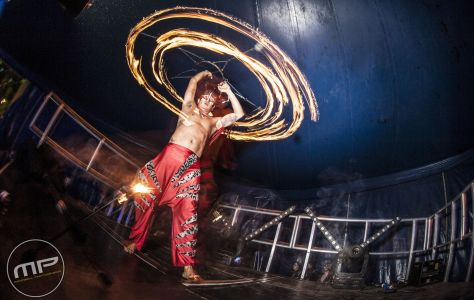 Fire Performer Zoo Project Donington