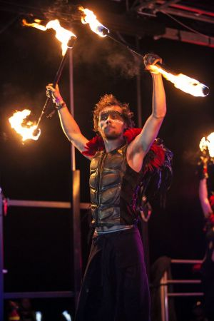 Fire Staff Performer