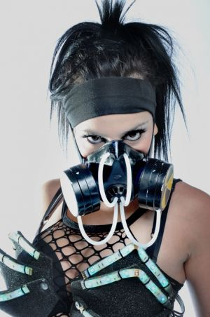 Gasmask Girl Dancer