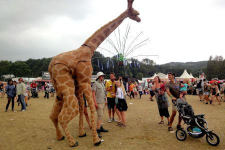 Giraffe Stilt Walker