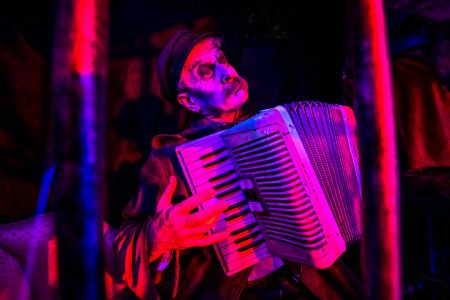 halloween accordionist