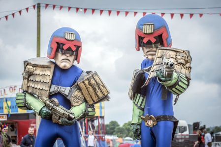 Judge Dredd Cartoon