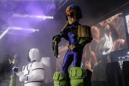 Judge Dredd Secret Garden Party