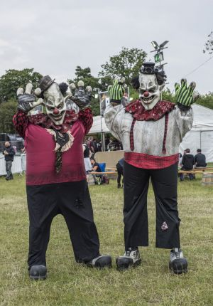 Killer Klowns At Download Festival