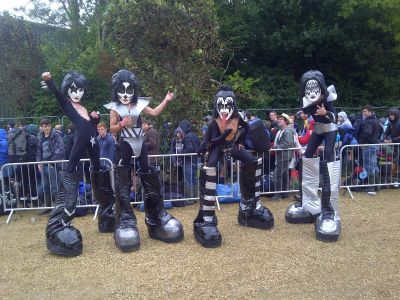 Kiss Characters Bestival