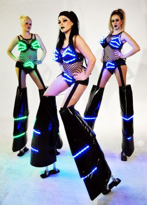 Led Stiltwalkers