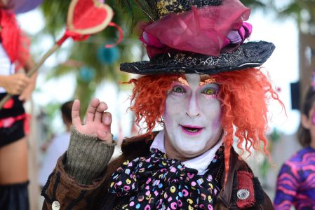 mad hatter makeup