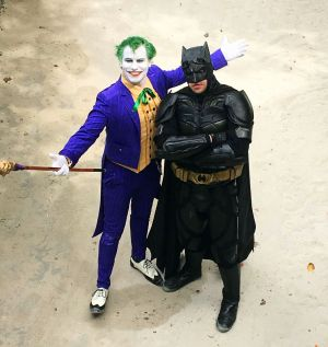 maldives batman and the joker