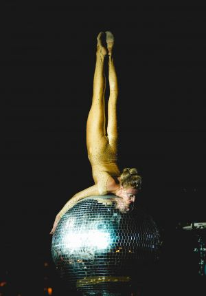 mirrorball contortionist