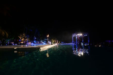 Paradise Pool Party Maldives