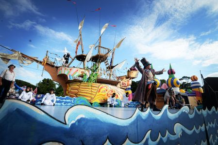 Pirate Ship Camp Bestival