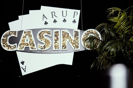 Playing Cards Casino Decor