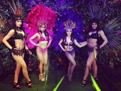 Rio Carnival Performers