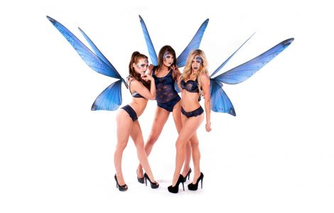 Sexy Butterfly Girls