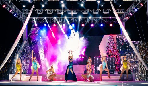 spectacular stage show maldives