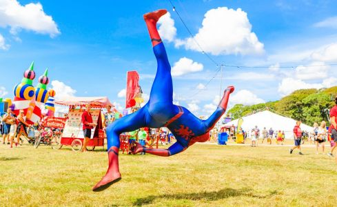 spiderman entertainer