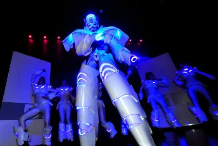 Stilt Walker Robot