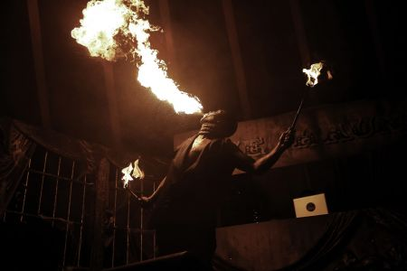 The Rainbow Venues Fire Breathing