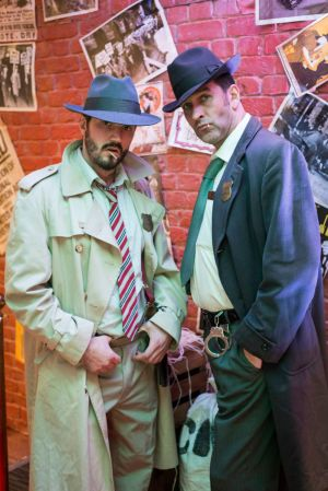 Twenties Gangsters Performers