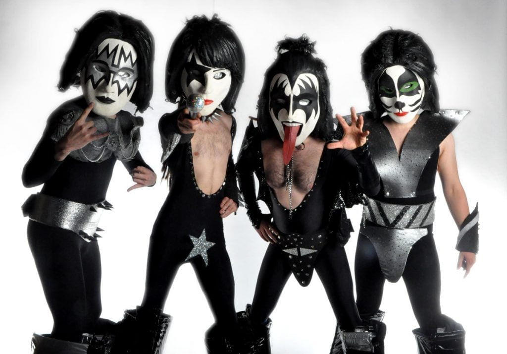 kiss bobble heads
