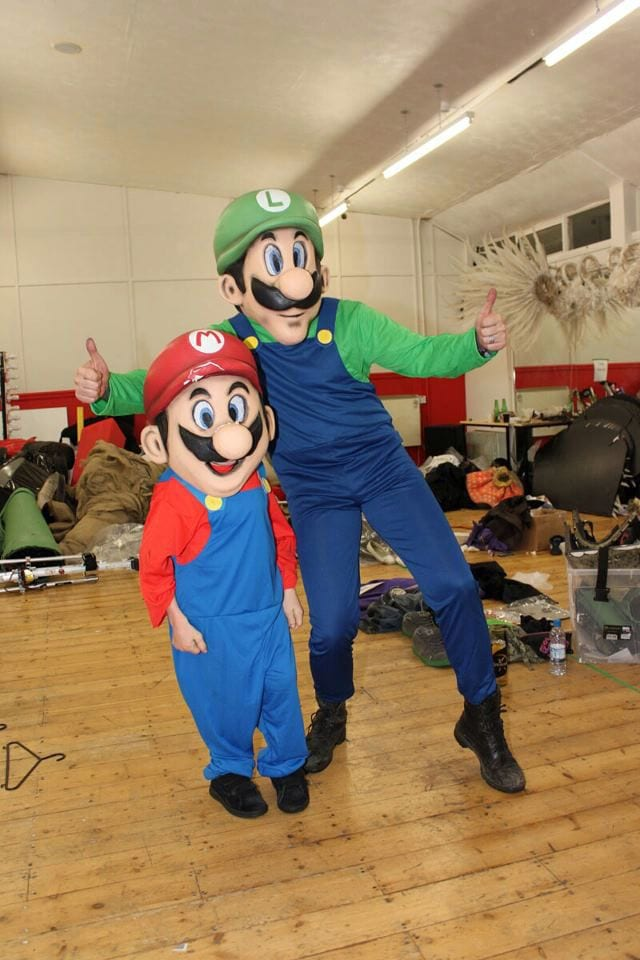mario and luigi bobblehead