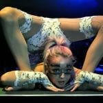 winter show contortionist